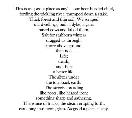 The poem Beorma by Richard O'Brien, which he read at Poetry in The Penthouse