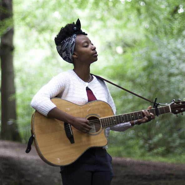 Philppa Zawe appeared at Songs In The Sky in Birmingham