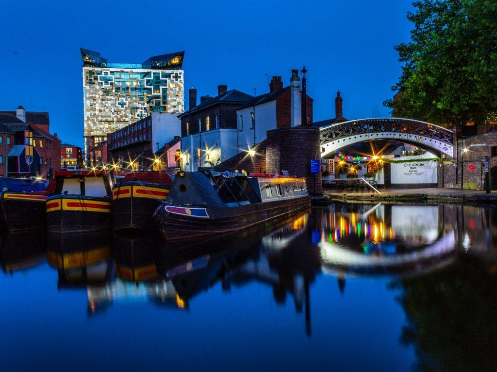 Gas Street Basin taken by Christine Wright